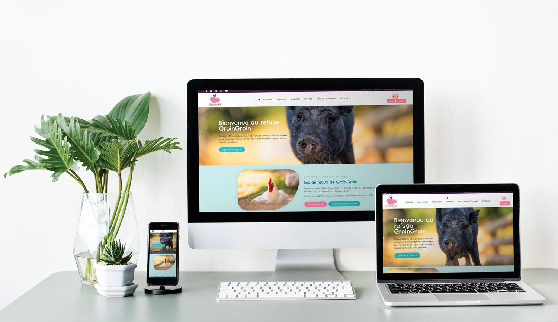 site web groingroin responsive